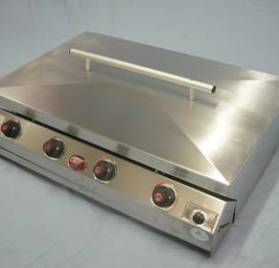 F10042 – CHEF BI 4 BURNER SLIMLINE