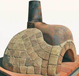 Pizza Oven Brown